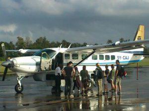 Flight from Masai Mara