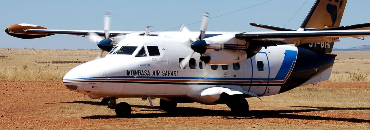 Air Safaris in Kenya